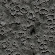 Seamless Texture crater surface - stock illustration