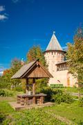 Orthodox monastery. Suzdal, Russia. - stock photo
