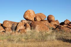 Devils Marbles, Northern Territory, Australia - stock photo
