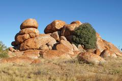Stock Photo of Devils Marbles, Northern Territory, Australia