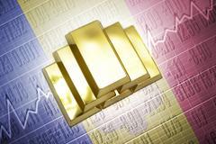 Andorra gold reserves Stock Photos