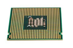Electronic collection - Computer CPU (Central Processing Unit) chip from the  Kuvituskuvat