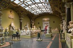 Pushkin Museum of Fine Arts in Moscow - stock photo