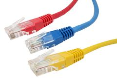 Network Ethernet Cabl - stock photo