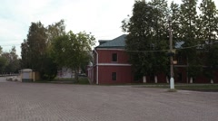 Old building in Sergiev Posad , Russia Stock Footage
