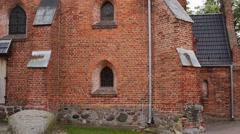 Church of Saint Anne in Sztum, Poland Stock Footage