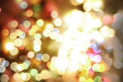 Colorful blurred circles abstract background - stock photo