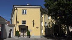 Stenbock House on Rahukohtu in Tallinn, Estonia. Stock Footage