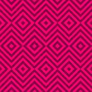 Ethnic tribal zig zag and rhombus seamless pattern. Vector - stock illustration