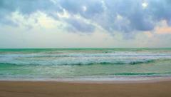 Gentle Breakers on a Tropical Sea Stock Footage