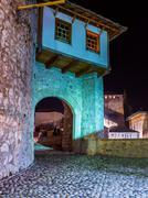Stock Photo of Old Bridge in Mostar - Bosnia and Herzegovina