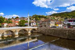 Old town Sarajevo - Bosnia and Herzegovina - stock photo