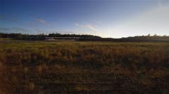 The wide field in Ida-Virumaa Stock Footage