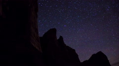 Redrock Canyon Time-Lapse - stock footage