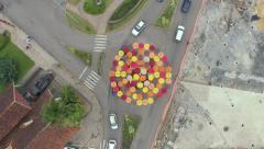 Aerial - Catedral de Pedra - Canela/RS - Serra Gaúcha 01 Stock Footage