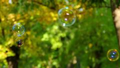 Blowing Soap Bubbles In Slow Motion Arkistovideo