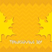Stock Illustration of Creative Thanksgiving Day Background stock vector