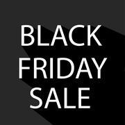 Stock Illustration of Black Friday sale design element