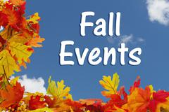 Fall Events - stock photo