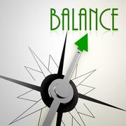 Stock Illustration of Healthy compass