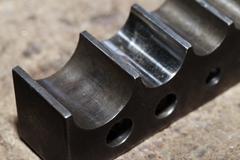 Tool master jeweler closeup - stock photo