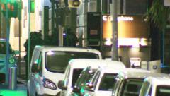 Sydney Lindt Cafe Terror siege Sydney Australia Stock Footage