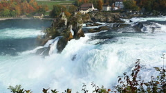 Rheinfall  Switzerland Stock Footage