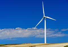 Stock Photo of Wind turbine Jerez de la Frontera Andalucia Spain Europe