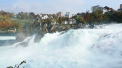 Switzerland Rhine Falls Stock Footage