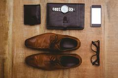 View of stuff for a businessman Stock Photos