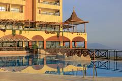 Hotel in Turkey - stock photo