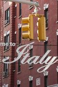 Little Italy, New York, United States of America, North America - stock photo