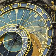 Astronomical Clock, Old Town Hall, Prague, UNESCO World Heritage Site, Czech Stock Photos