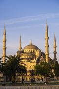 Blue Mosque (Sultan Ahmed Mosque) (Sultan Ahmet Camii), UNESCO World Heritage Stock Photos