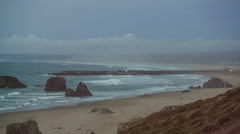 Bandon beach Stock Footage