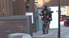 Stock Video Footage of DARPA Robotics Challenge Finals 2015