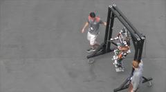 DARPA Robotics Challenge Finals 2015 Stock Footage