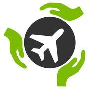 Stock Illustration of Aviation Care Icon