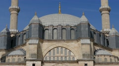 Selimiye Mosque Edirne, Turkey Stock Footage