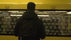 Metro Berlin U-Bahn Stock Footage