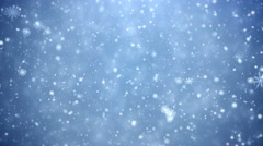 Winter Christmas background Stock Footage