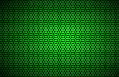 Geometric polygons background, abstract green metallic wallpaper, vector illu Stock Illustration