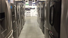 Stock Video Footage of Appliance Shopping