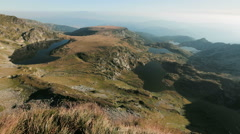 Mountain Lakes - Rila, Bulgaria Stock Footage