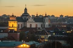 Vilnius, Lithuania:  Church of the Holy Spirit - stock photo