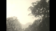 Vintage 16mm film, 1930, Haiti, Port Au Prince b-roll #2 - stock footage