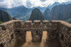 Machu Picchu, UNESCO World Heritage Site. One of the New Seven Wonders of the Stock Photos