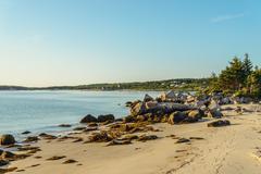 Carters Beach (Nova Scotia, Canada) - stock photo