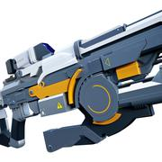 Stock Illustration of Sci-fi assault gun
