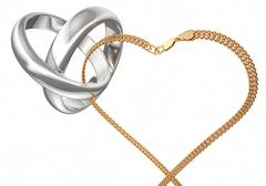 Stock Illustration of Wedding ring 3d render
